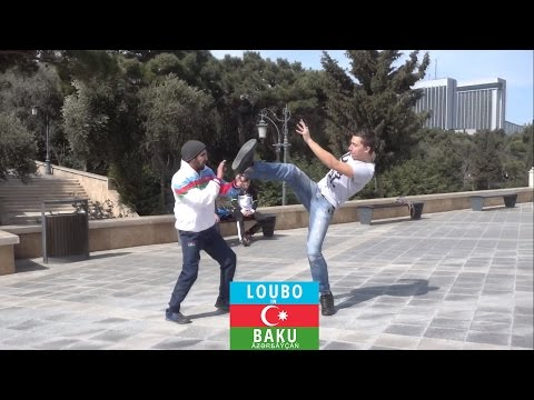 Loubo in Baku - Challenging an Azerbaijani boxer for a fight