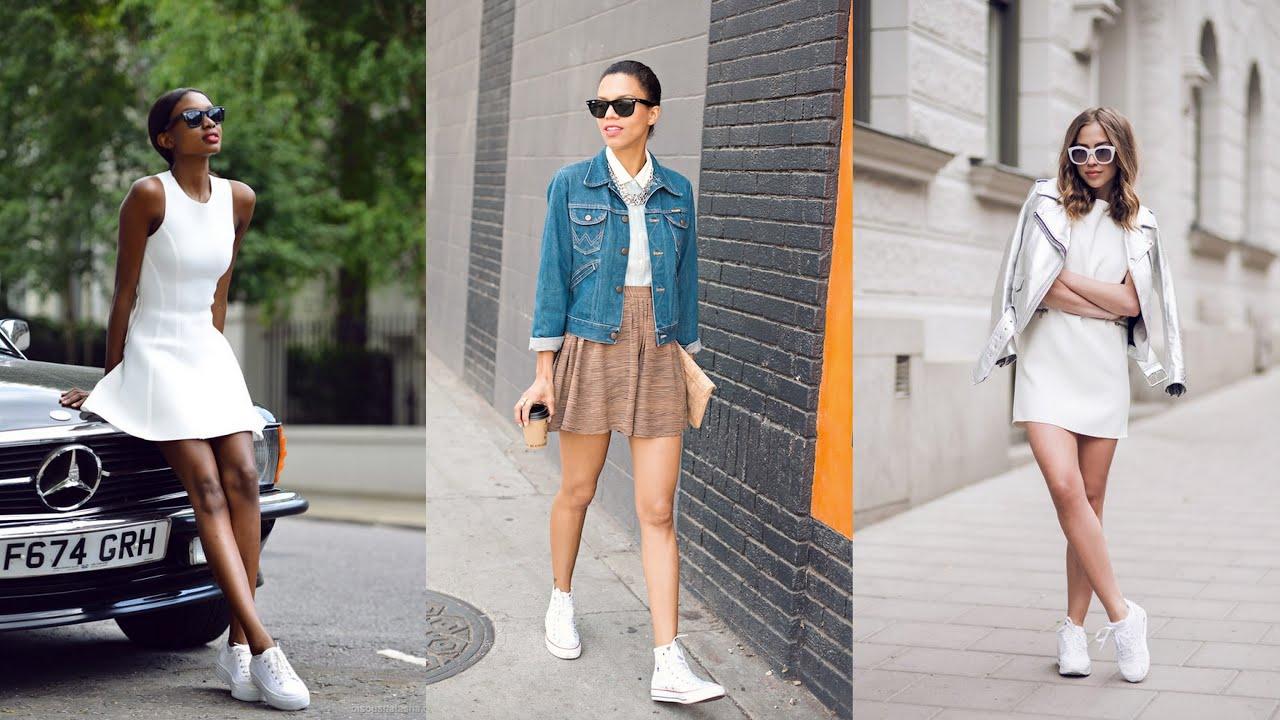 Skirt and Sneakers | Indian Bigul
