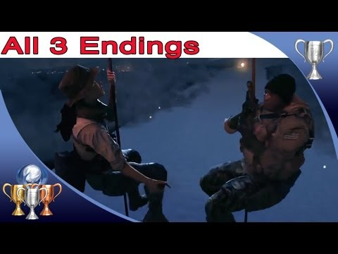 Battlefield 4 - All 3 Endings - Patience is a Virtue Trophy / Achievement Guide - Every Ending