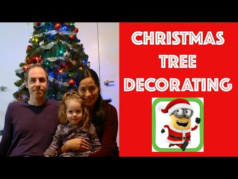 CHRISTMAS TREE DECORATING | MINION ORNAMENT | FUN TIMES WITH JADE