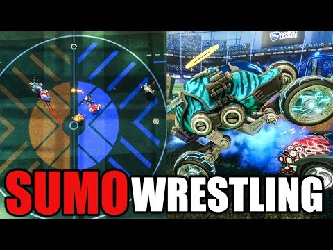 ROCKET LEAGUE SUMO WRESTLING
