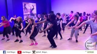 zumba routine afro style by atef blagui omg p square