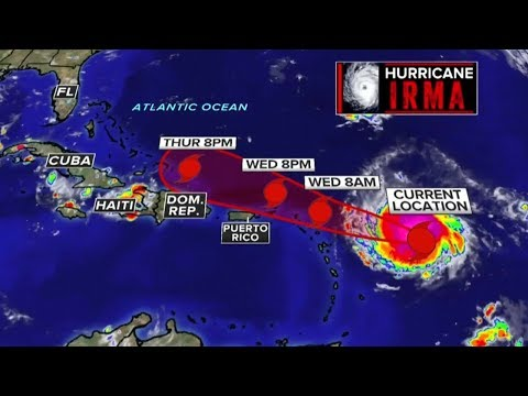 Hurricane Irma Slams Caribbean Islands As Category 5 Storm