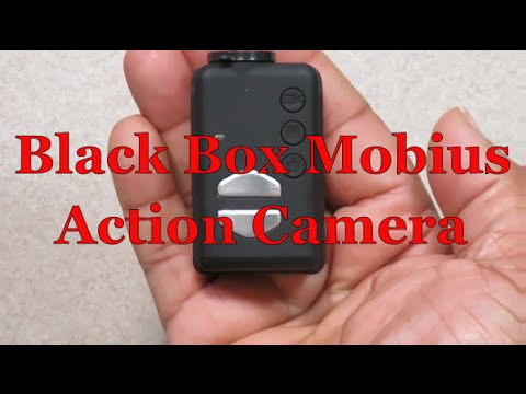 Test and Review Black Box Mobius Action Camera...personal or dash cam with motion detection