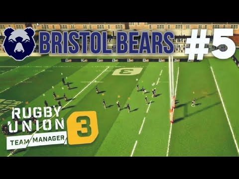 Rugby Union Team Manager 3 | Bristol Bears | S1 EP5 // CAN WE GET OUR FIRST WIN?! |