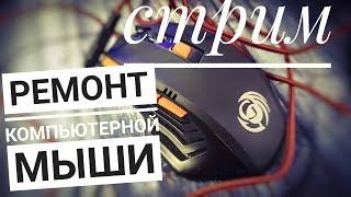 СТРИМ Ремонт компьютерной мыши
