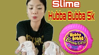 HUBBA BUBBA SLIME Làm Từ Kẹo Hubba Bubba Giả 5k | Như Quỳnh Kids
