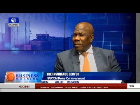 Business Morning: NAICOM Rules And The Insurance Sector -- 24/08/15 Prt 2