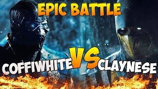 EPIC BATTLE - COFFIWHITE VS CLAYNESE (Mortal Kombat X)