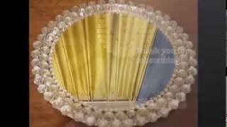 DIY Simple Elegant Bling Mirrored Tray