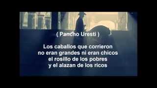 Leandro Ríos - Pancho Uresti - Diego Herrera - El Alazán y El Rosillo Letra