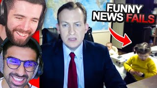 SIDEMEN REACT TO FUNNIEST NEWS FAILS