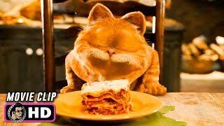 GARFIELD: A TAIL OF TWO KITTIES Clip - Lasagna Dance (2006) Bill Murray