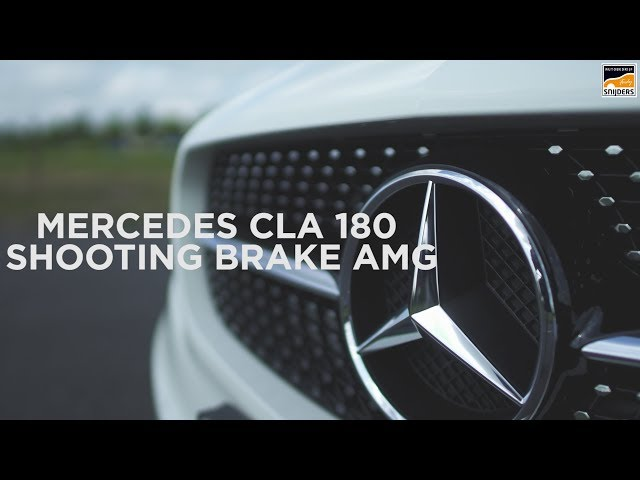 Mercedes CLA Shooting Brake AMG te koop bij Ferdy Snijders
