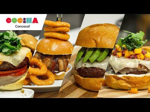 Cocina Concacaf | ¡Día internacional de la hamburguesa!