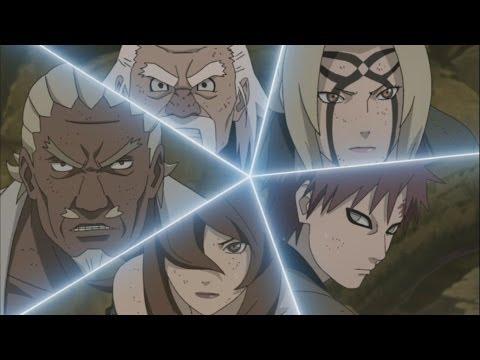Naruto-Madara Vs Five Kages