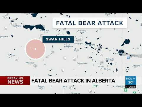 Alberta woman fatally attacked by bear