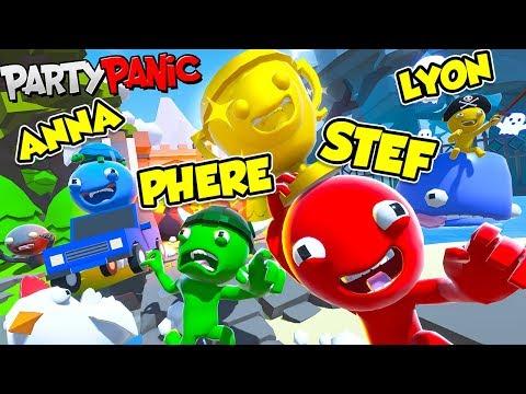 Party Panic - Stef Vs Phere Vs Lyon Vs Anna - Chi vincerà??