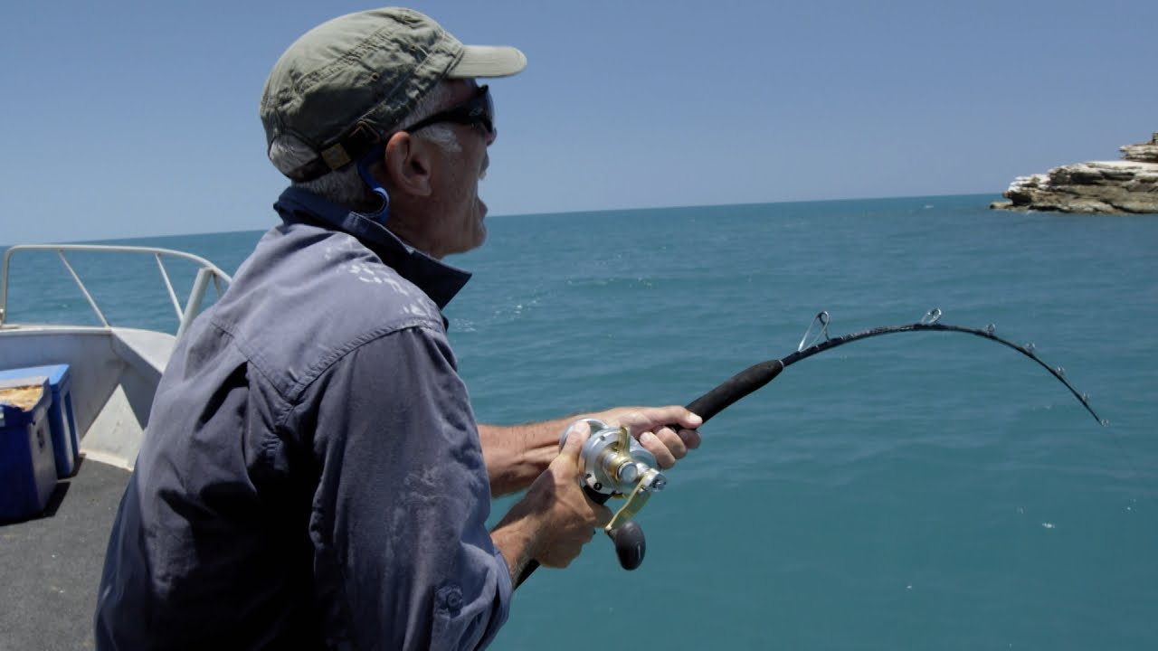 Jeremy reaches his breaking point fishing in australia for Jeremy wade fishing rod