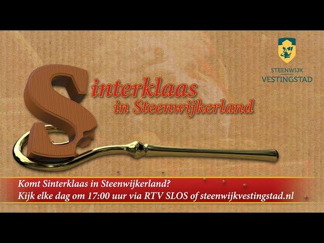 Promo: Sinterklaas verhaal Steenwijkerland 2020