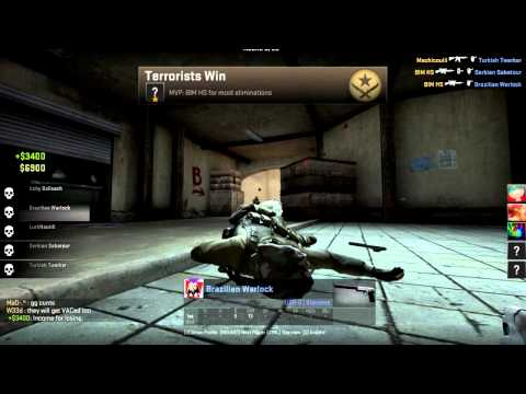 Hacker on CSGO (please report this guy, profile url in desc.)