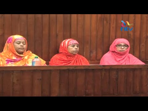 Three women who housed terror suspects remanded