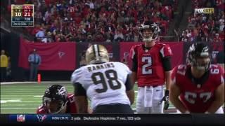 Matt Ryan 331 Yards & 4 TDs!   Saints vs  Falcons   NFL Week 17 Player Highlights