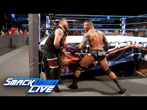 Randy Orton vs. Kevin Owens - No Disqualification Match: SmackDown LIVE, Nov. 28, 2017