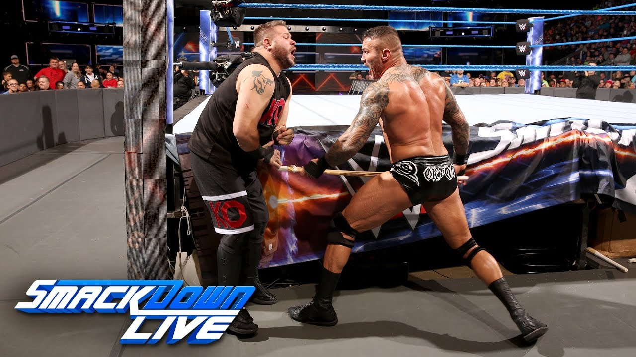 Randy Orton vs  Kevin Owens - No Disqualification Match: SmackDown LIVE,  Nov  28, 2017
