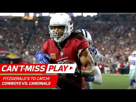 Larry Fitzgerald Passes Harrison for 8th in All-Time Receiving Yards! | Can