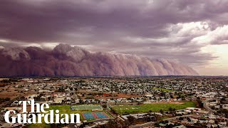 Australia's week of wild weather: bushfires, hail, dust storms and flash floods