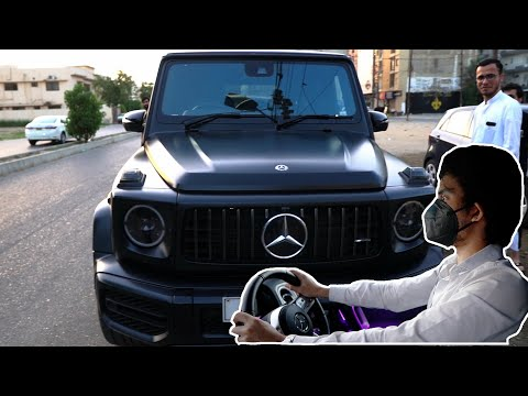 DRIVING A 2020 MERCEDES G-WAGON (G63 AMG) in Karachi