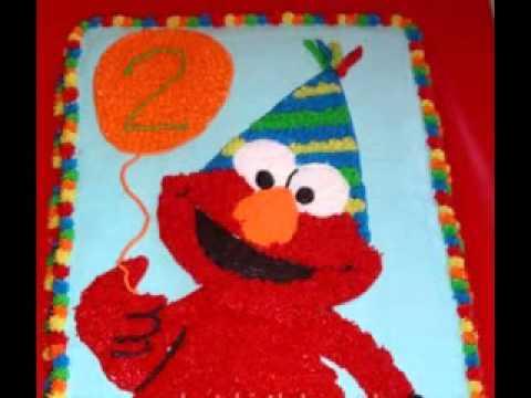 Elmo Birthday Cake Decorating Ideas