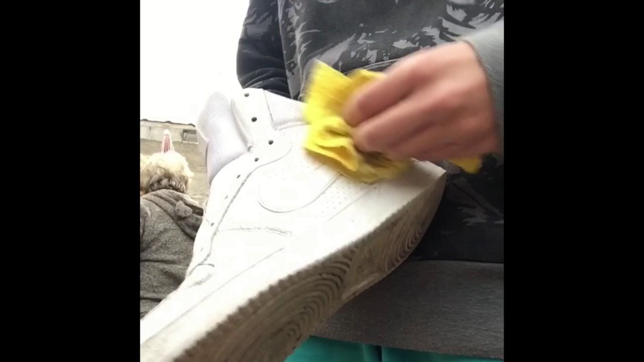 Youtube Spray Pintando Blancas Nike Zapatillas Con qvwnYpXR6