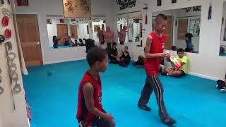 Kung Fu Kids - Fortnite Challenge - 2 Weapons
