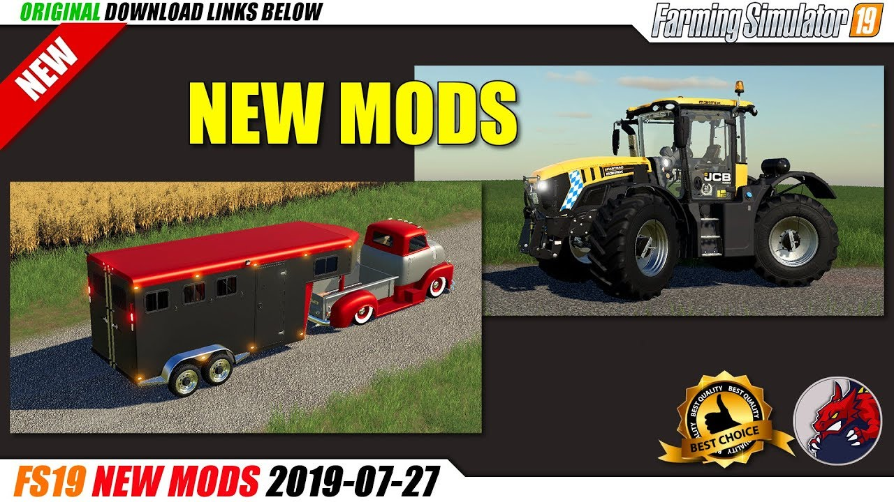 FS19 | New Mods (2019-07-27) - review