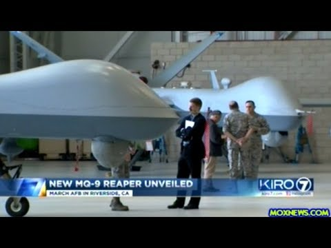 """Pentagon Unveils Newest Unmanned Attack Drone The MQ-9 REAPER """"Faster And More Lethal"""""""