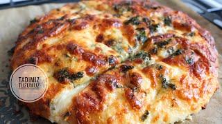 BU SARIMSAKLI EKMEK TARİFİ SİZİ ZİRVE YAPACAK  Garlic Bread Recipe  Tadımıztuzumuz