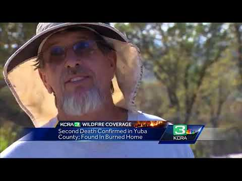 Wildfire claims 2 lives, destroys Yuba County homes
