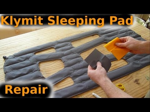 How to find and fix a leak in your sleeping pad - Klymit Xlite
