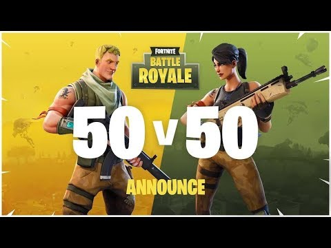 🌲400 SUB GOAL!! SO CLOSE 💯XBOX ONE💯FORTNITE 50 vs 50 NEW LMG IS OUT 🌲