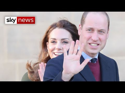 William and Kate back on duty for first time since Harry and Meghan bombshell