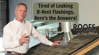 B-Vent Roof Top Pipe Vent Flashing, Steps 1 & 2