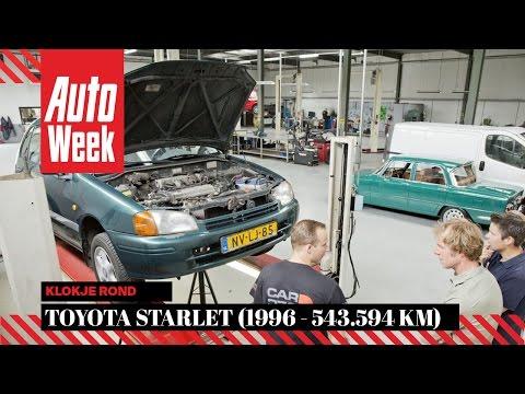 Toyota Starlet 1.3 16v (1996 / 543.594 km) - Klokje Rond - AutoWeek
