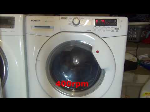 Wash and Dry 59' (Full cycle) : Hoover Visiondynamic Washer Dryer.