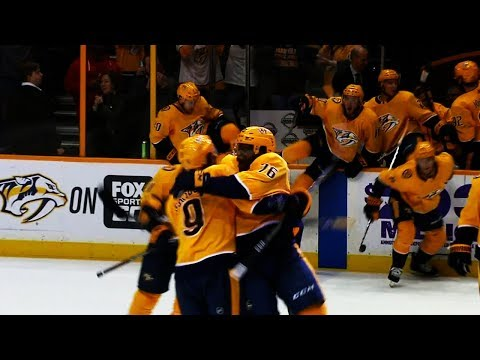 Predators complete miraculous 3-goal comeback with penalty shot OT winner against Blues