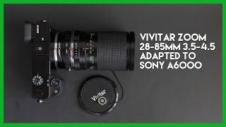 Vivitar Zoom Lens Adapted to t…
