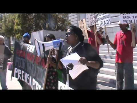 PNN-TV: Stop Stealing Public Housing From the Public- An Emergency Press Conference for Housing