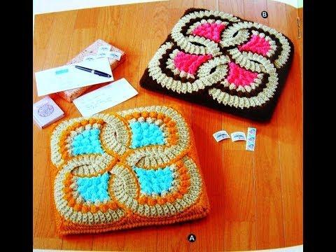 Crochet Patterns For Free Crochet Blanket Squares 2383 Youtube