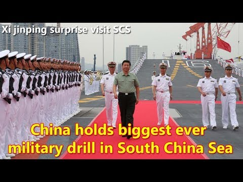 China holds biggest ever military drill in South China Sea